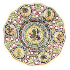 Coimbra Ceramics Hand-painted Hanging Decorative Plate XV Century Recreation #192