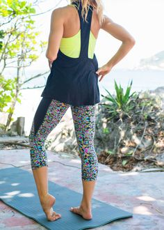 Beautiful bras, tanks and printed leggings. Discover the new Rio inspired activewear collection.