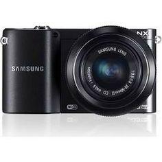 Samsung NX1100 20.3MP Black Smart Digital Camera with 20-50mm F/3.5-5.6 ED II Lens