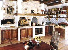 A wonderful Old World Bavarian kitchen!