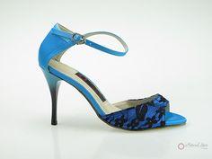 Natural Spin Designer Salsa Shoes/Tango Shoes/Fashion Shoes(Open Toe):  D1102-T1
