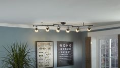 Industrial-look task lighting