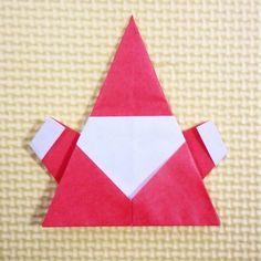 折り紙のサンタがかわいい!簡単な折り方だから子供にもおすすめ | life is happy