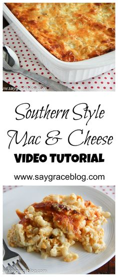 Soul Food Recipe | My most requested recipe for south side mac and cheese!