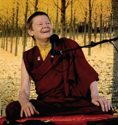 """""""Rather than letting our negativity get the better of us, we could acknowledge that right now we feel like a piece of shit and not be squeamish about taking a good look."""" — Pema Chödrön, When Things Fall Apart: Heart Advice for Difficult Times"""