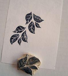 stamp #3: leaves | Flickr: Intercambio de fotos