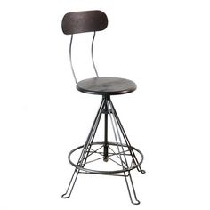"""Adjustable stool with back; $295; made in PA; 19"""" wide; seat width? saddle?"""