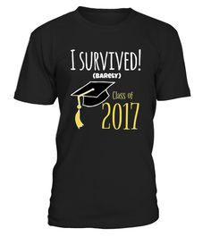 CHECK OUT OTHER AWESOME DESIGNS HERE!  College graduation shirts for girls women boys men, Cool college senior tshirts for guys girl, Funny senior 2017 shirts for womens mens, Cute 2017 senior t-shirt for adults, College graduation gifts for him her, College grad gift ideas for guys girls        TIP: If you buy 2 or more (hint: make a gift for someone or team up) you'll save quite a lot on shipping.     Guaranteed safe and secure checkout via:   Paypal | VISA | MASTERCARD     Click ...
