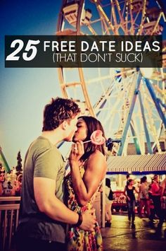 25 GREAT Date Ideas That Won't Cost You Anything! Some of these aren't great for small towns, but some of them sound like fun.