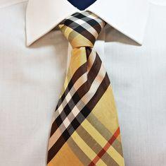 Authentic Gianni Vasari Neck Tie Plaid 100% Doupioni Silk Made In Italy Men's  #GianniVasari #NeckTie