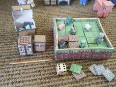 Minecraft Papercraft Flat-Craft Game