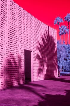 Kate Ballis has photographed Palm Springs' buildings – like The Parker Hotel – many times, so wanted to put a fresh spin on the recognisable views.