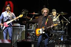 John Oates Photos Photos - Daryl Hall and John Oates of the band Hall and Oates perform at Xcel Energy Center on May 11, 2017 in St Paul, Minnesota. - Daryl Hall, John Oates & Tears For Fears in Concert in Saint Paul, Minnesota