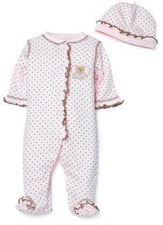 Little Me Mini Heart Layette Pink - List price: $15.00 Price: $10.95