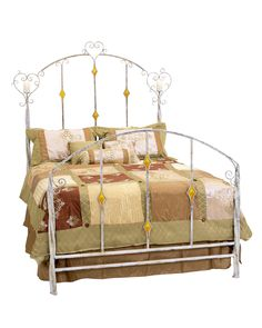 Victorian Heart Bed by Stone County Ironworks