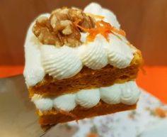 Tarta zanahoria sin azucar