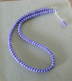 Lovely in Lavender/Genuine freshwater by CreationsbyMaryEllen, $24.99