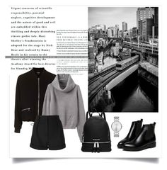 """black"" by snztrk ❤ liked on Polyvore featuring Topshop, IRO, MICHAEL Michael Kors and Marc by Marc Jacobs"