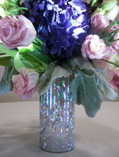 Florist Mercantile Company - #vasesleeves #wedding #event #blingbling #vase #flowers