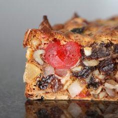 Gluten free fruit cake. Aromatic cake for festive season.