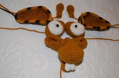 Ravelry: Project Gallery for 005 Giraffe George Amigurumi pattern by LittleOwlsHut Crochet Animal Amigurumi, Crochet Animals, Crochet Toys, Free Crochet, Ravelry, Crochet Patterns, Etsy, Giraffes, Christmas Ornaments