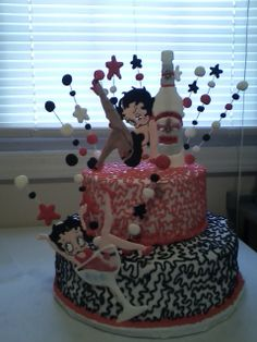 Betty Boop Pictures Archivebirthday   Betty Boop Birthday — Cakes Picture
