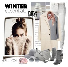 """""""Winter Essentials"""" by goreti ❤ liked on Polyvore featuring Balmain, MANGO, Phase Eight, Vince Camuto, Charlotte Russe, Gérard Darel, Victoria Beckham, Charbonnel et Walker, polyvoreeditorial and winteressentials"""