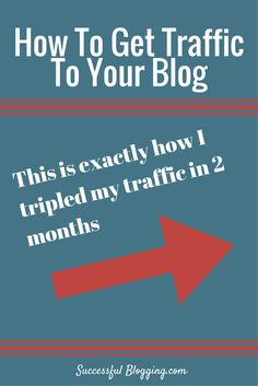 Drive more free traffic to your blog - best 3 ways to get more visitors and subscribers