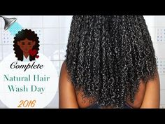 NATURAL HAIR WASH DAY????????????| Reduce shedding, Rejuvenate your scalp and retain length! [Video] - Black Hair Information