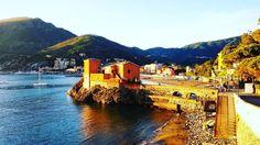 What a wonderful sunset!!! #levanto #visitLevanto #cinqueterre #Liguria by visitlevanto