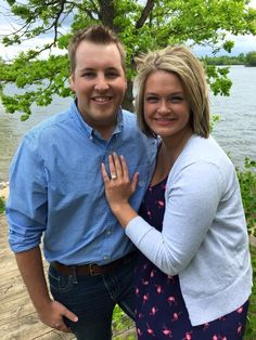 Congratulations to Joey and Rachel on their engagement! We're so happy for such a wonderful couple! Click to see Rachel's gorgeous new ring!
