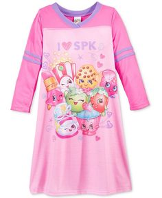 Ame Girls' or Little Girls' Shopkins Nightgown
