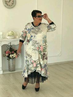 Купить Платье - платье, платье большого размера, платье бохо, коттон