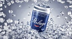 Perlage can on Behance