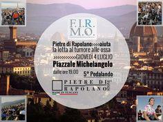 5° Pedalando per F.I.R.M.O. – Piazzale Michelangelo, Firenze | Pietre di Rapolano