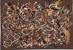 Obsessed with Jackson Pollock.