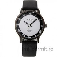 Un ceas marca Miler ce poate fi purtat de oricine, oriunde. Design modern, minimalist