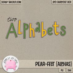 25% off for a limited time! Pear-Fect {Alphas} by Jen Yurko!