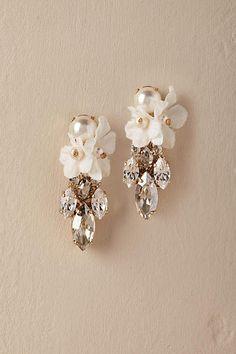 Wedding Earrings Orchid Waterfall Earrings Gold in Bride Bridesmaid Earrings, Wedding Earrings, Bridal Accessories, Wedding Jewelry, Accessories Display, Modern Jewelry, Fine Jewelry, Cheap Jewelry, Bohemian Jewelry