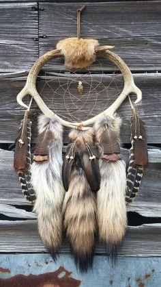 Antlers Bones Dreamcatcher