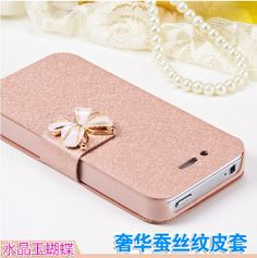 64429fca282 2016 luxury capa para flip Silk Leather cover coque case for Apple iphone 4  5 6 7 plus fundas