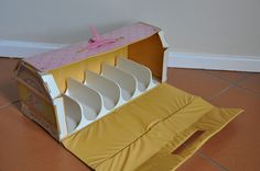 Vintage Hasbro My Little Pony Stables Carry Case 1983- Open by jadedoz, via Flickr