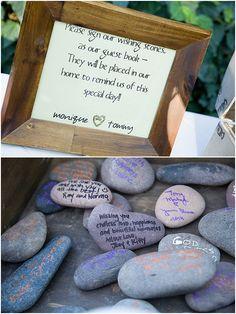 Use wedding stones f