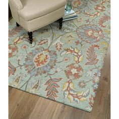 Shop for Christopher Agra Mint Hand-Tufted Rug (9'0 x 12'0). Get free shipping…