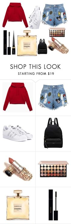 """""""Bookmark and Share"""" by morgane-222 on Polyvore featuring mode, Disney Stars Studios, adidas Originals, Radley, Gucci et Christian Louboutin"""