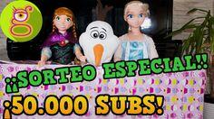 ¡¡¡SORTEO ESPECIAL 50.000 SUSCRIPTORES!!! Sorteo internacional de 6 juguetes
