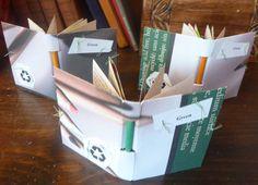 My Handbound Books - Bookbinding Blog: Green
