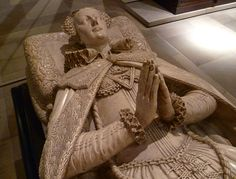 The Tomb Effigy of Mary, Queen of Scots, Westminster Abbey, London-Mistress of Scotland by law, of France by marriage, of England by expectation...