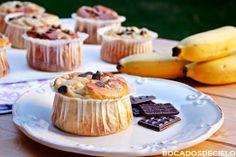 Bocadosdecielo: Muffins de plátano y queso