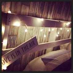 Pallet headboard #DIY, #Headboard, #Pallet